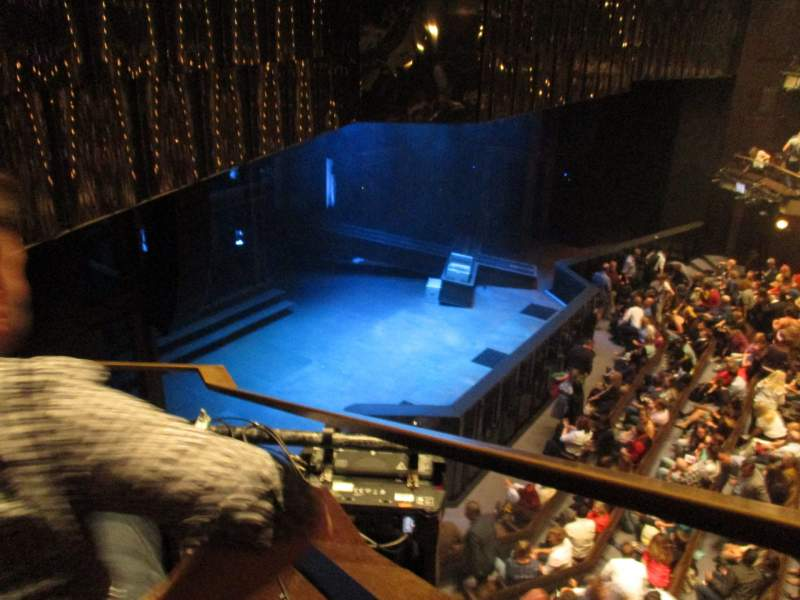 Seating view for Barbican Theatre Section Upper Circle Row AA Seat 11
