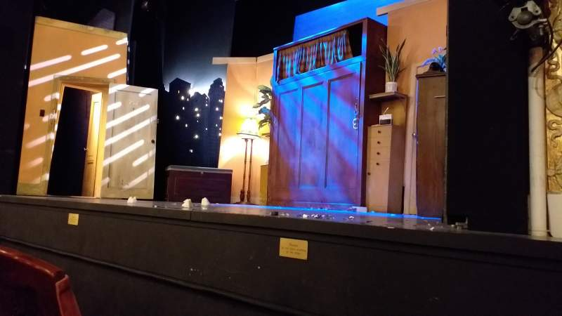 Seating view for Criterion Theatre Section Stalls Row B Seat 5