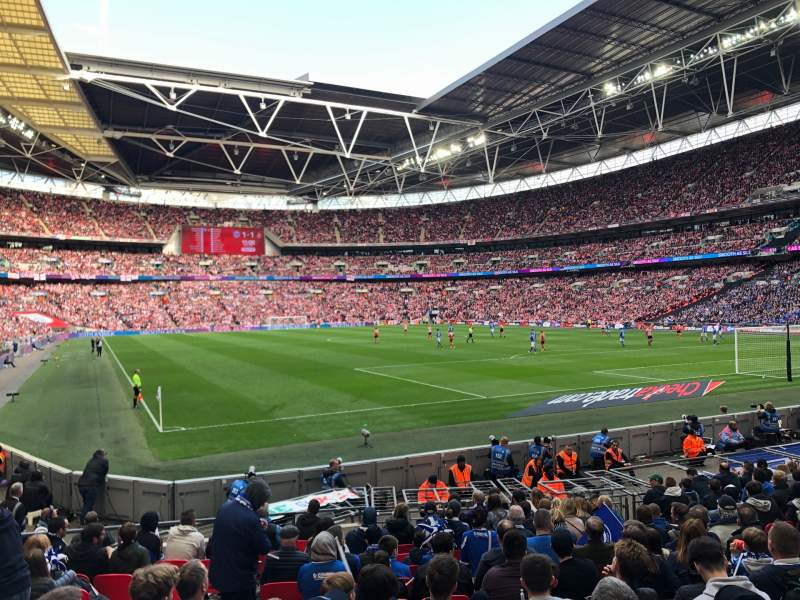 Seating view for Wembley Stadium Section 137 Row 15 Seat 90