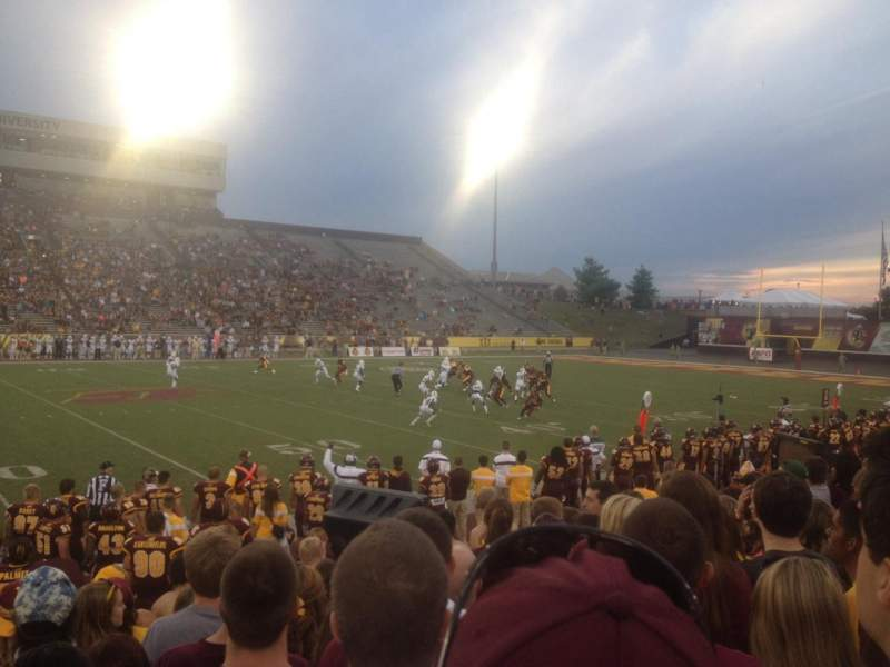 Seating view for Kelly Shorts Stadium Section W