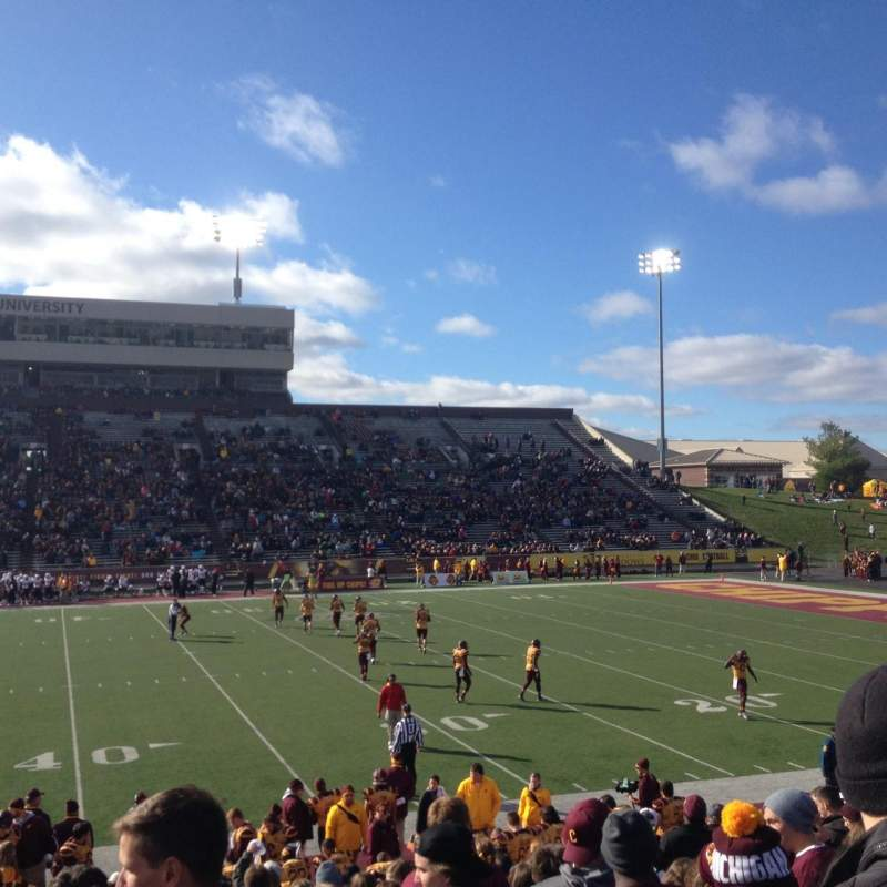 Seating view for Kelly Shorts Stadium Section Y