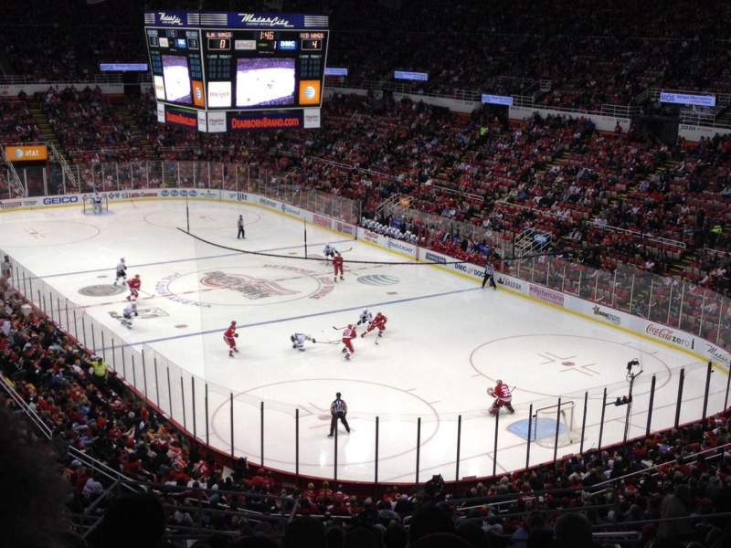Seating view for Joe Louis Arena Section 203A Row 16 Seat 8