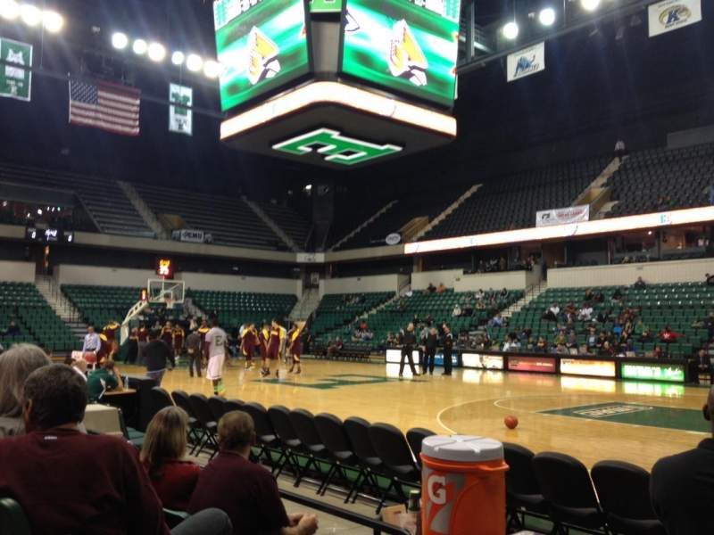 Seating view for Convocation Center (Eastern Michigan University)