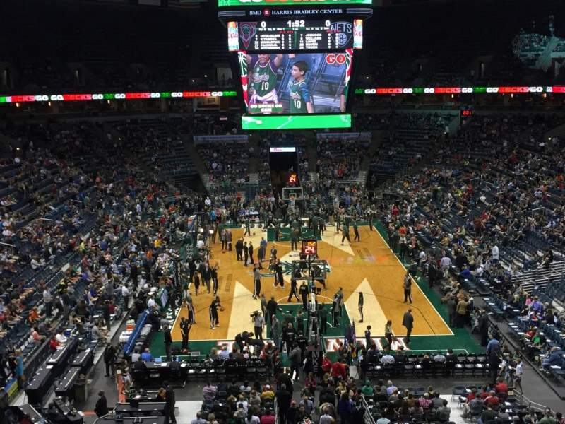 Seating view for BMO Harris Bradley Center Section 434 Row J Seat 11