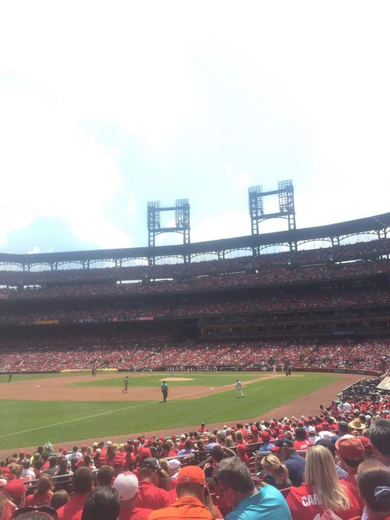 Seating view for Busch Stadium Section 164 Row 11 Seat 9