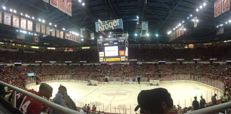 Seating view for Joe Louis Arena Section 207 Row 1 Seat 3