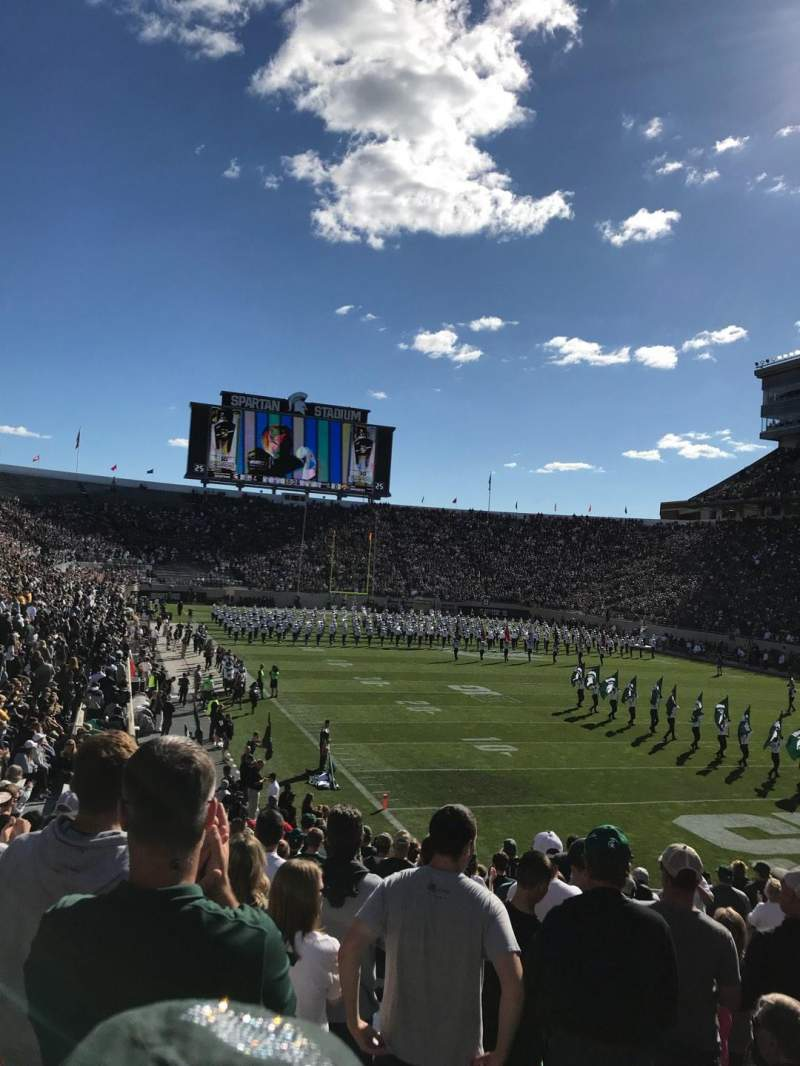Spartan Stadium, section: 3, row: 23, seat: 43