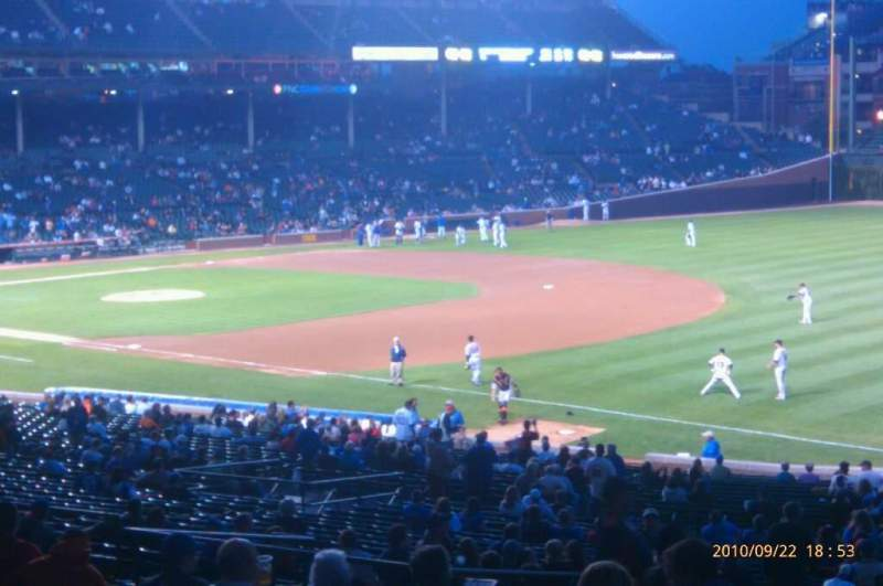 Seating view for Wrigley Field Section 228 Row 11 Seat 15