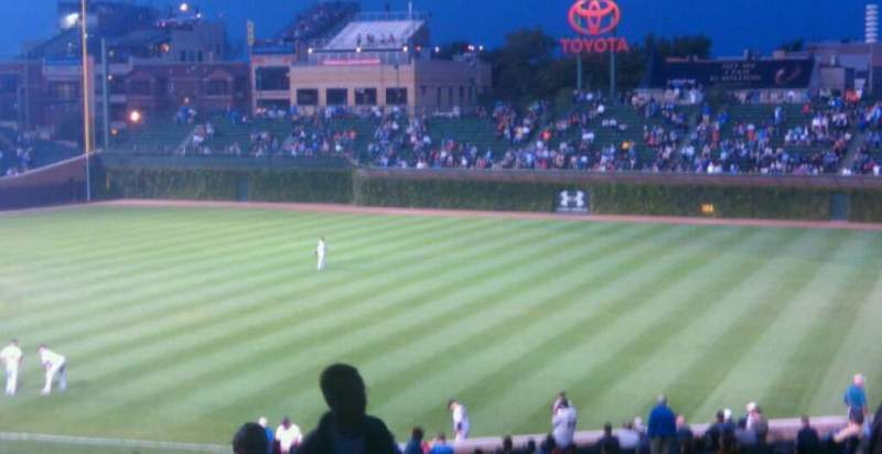 Seating view for Wrigley Field Section 426R