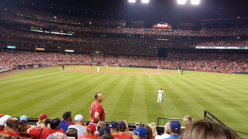 Seating view for Busch Stadium Section 127 Row 8 Seat 14