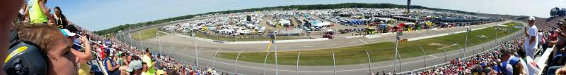 Seating view for Michigan International Speedway Section 40 Row 20