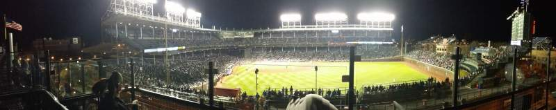 Seating view for Wrigley Field Section Skybox on Sheffield
