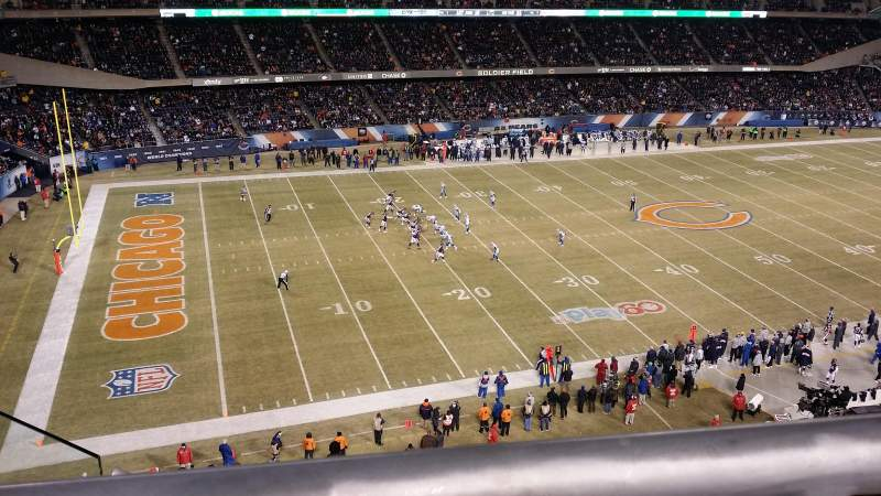 Seating view for Soldier Field Section 441 Row 1 Seat 6