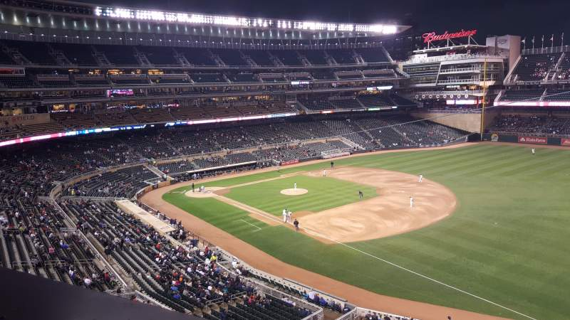 Seating view for Target Field Section Suite 3 Row 1 Seat 3