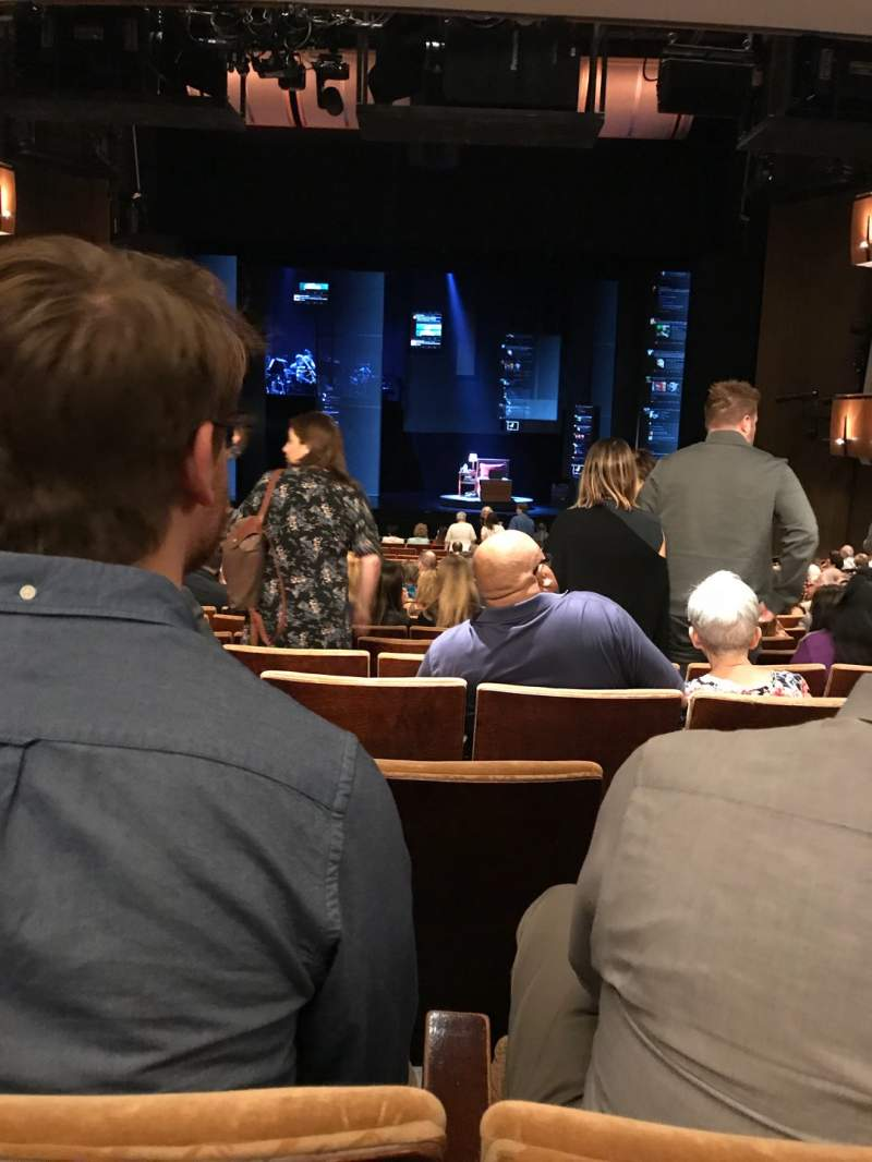 Seating view for Ahmanson Theatre Section Orchestra Row V Seat 27