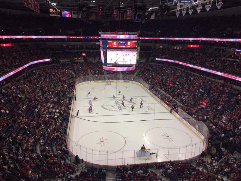 Seating view for Verizon Center Section 425 Row A Seat 1