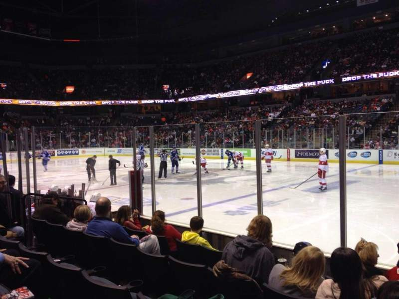 Seating view for Van Andel Arena Section 121 Row E Seat 1