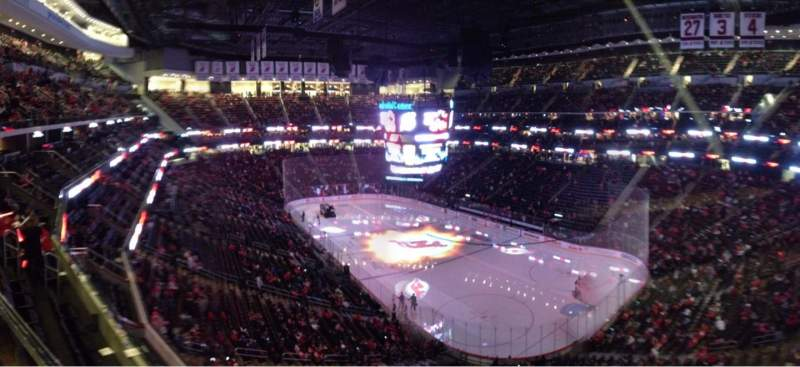 Seating view for Prudential Center Section 133 Row 1 Seat 1