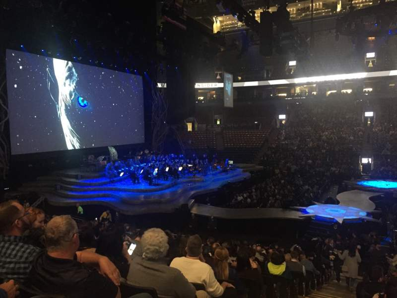 Seating view for Scotiabank Arena Section 108 Row 19 Seat 24