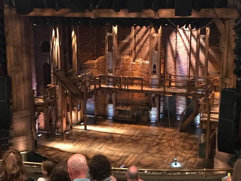 CIBC Theatre, section: Mezzanine R, row: J, seat: 2
