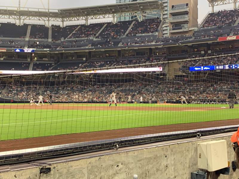 Seating view for PETCO Park Section 116 Row 2 Seat 2