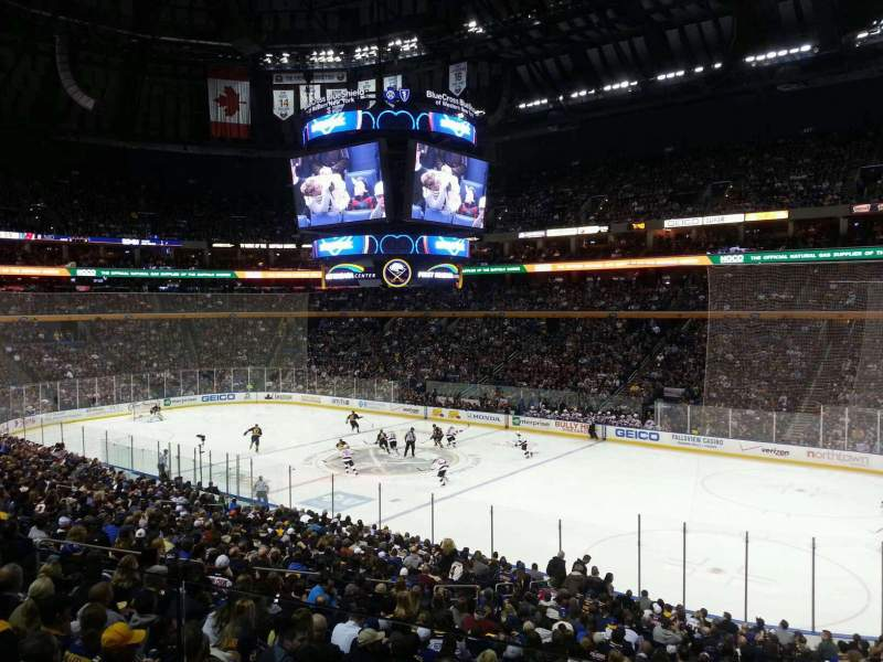 KeyBank Center, section: 215, row: 2, seat: 6