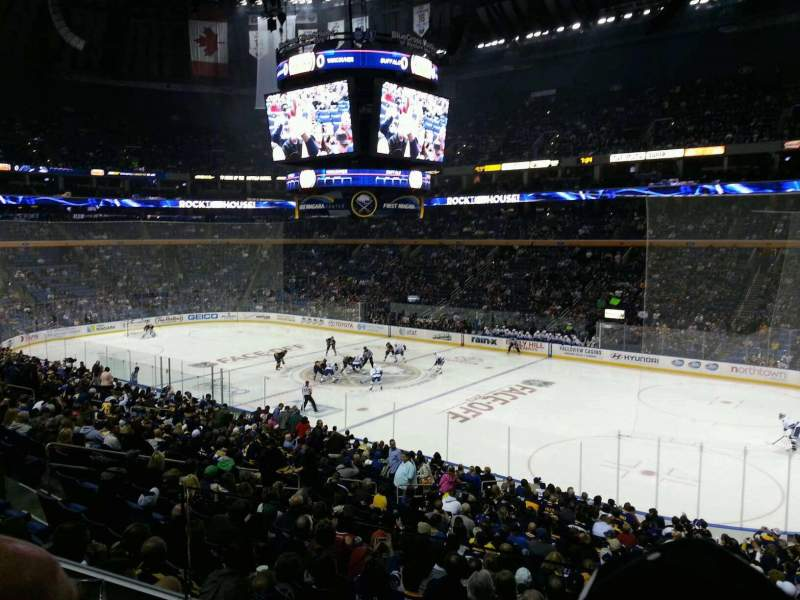 KeyBank Center, section: 215, row: 2, seat: 5