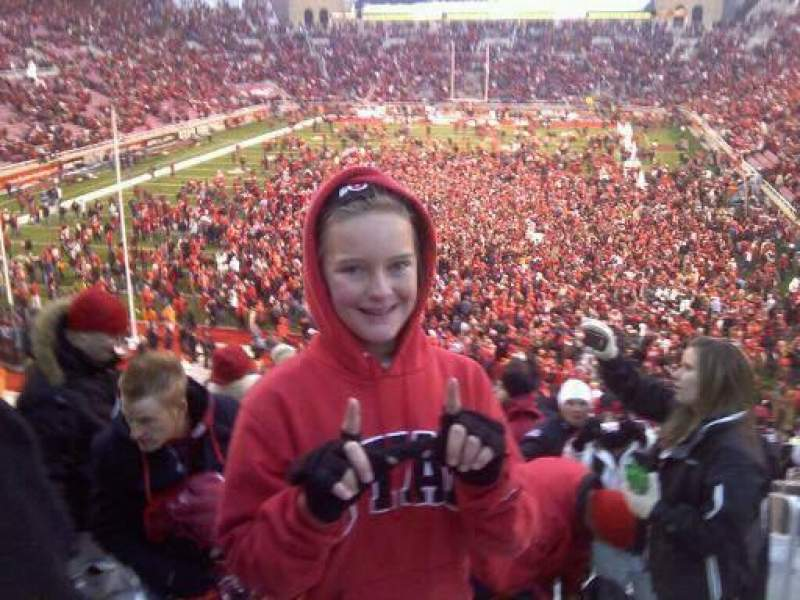 Seating view for Rice-Eccles Stadium Section S2 Row 23 Seat 27