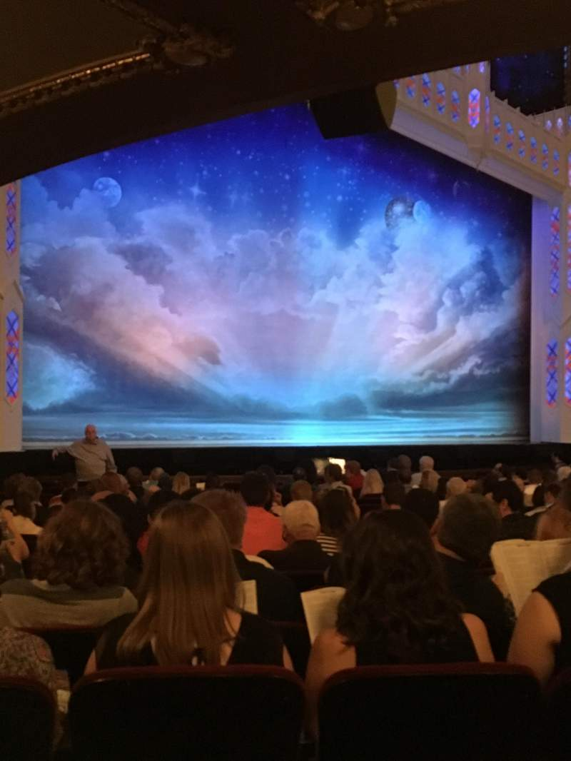 Seating view for CIBC Theatre Section Orchestra L Row U Seat 11