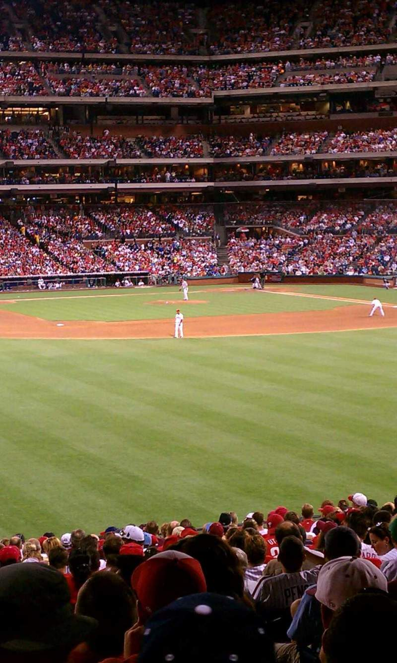 Seating view for Citizens Bank Park Section Ashburn Alley Row 1