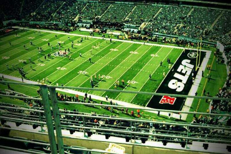 Seating view for MetLife Stadium Section 309 Row 6 Seat 10