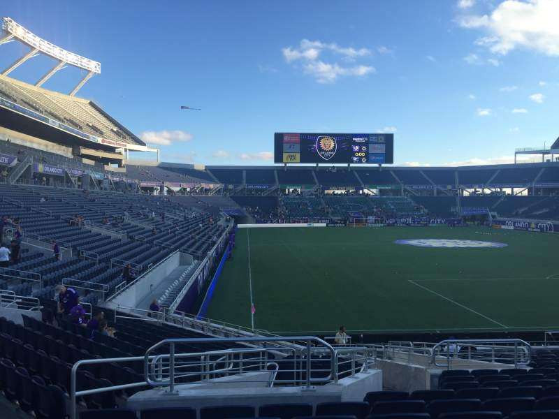 Seating view for Camping World Stadium Section 149 Row V Seat 23