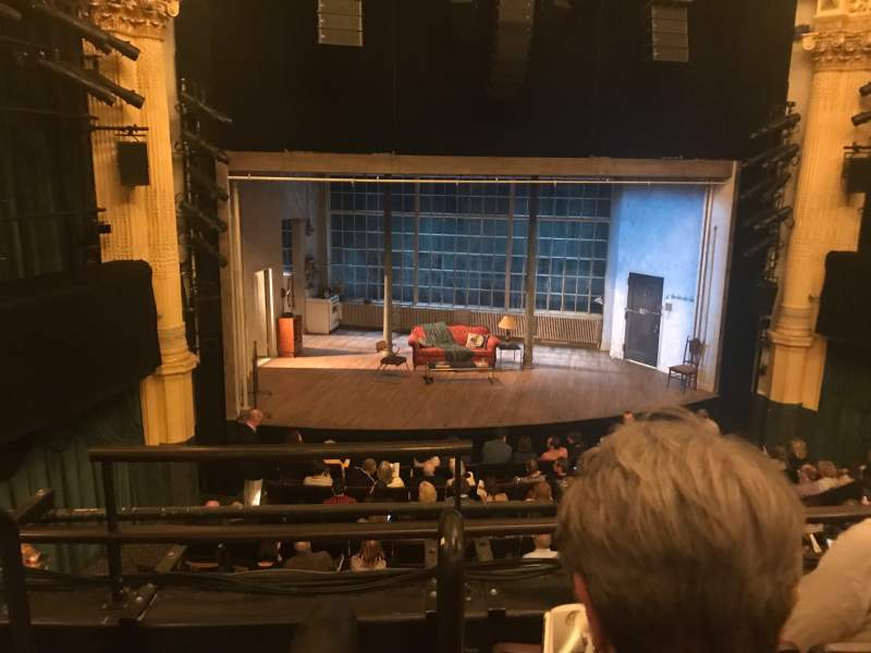 Seating view for Hudson Theatre  Section Dress Circle C Row C Seat 101