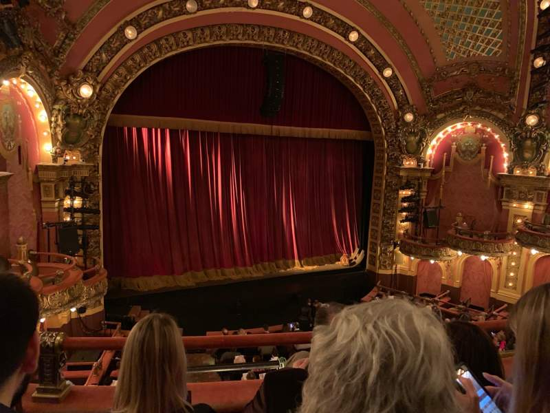 Seating view for Cutler Majestic Theatre Section Mezzanine Row C Seat 13