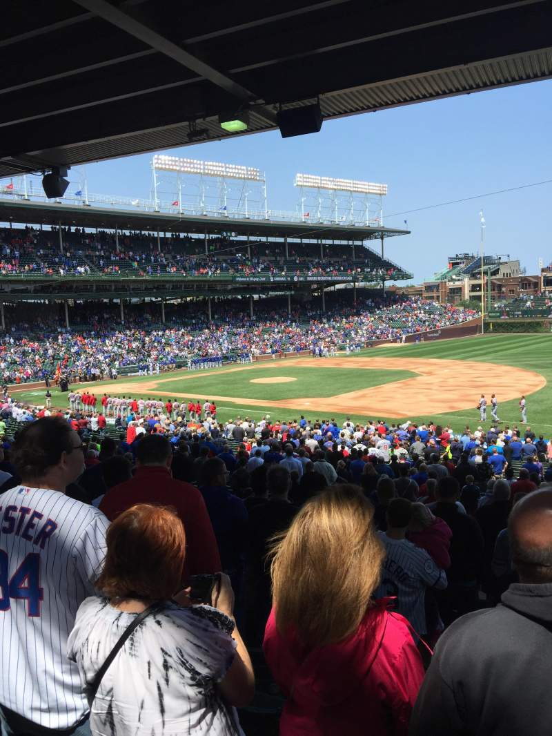Seating view for Wrigley Field Section 235 Row 10 Seat 103