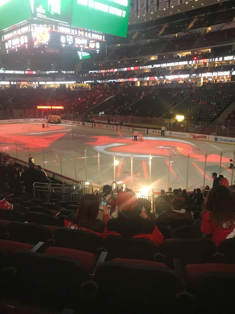 Seating view for Prudential Center Section 22 Row 17 Seat 5