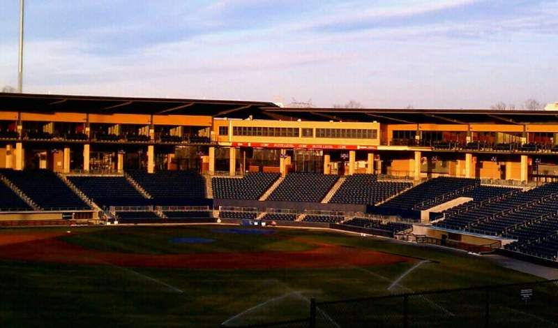 Seating view for Coolray Field Section na Row na