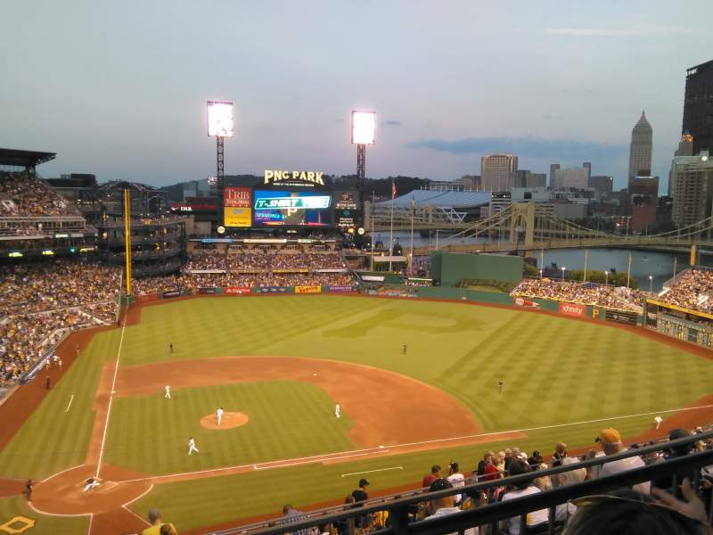 Seating view for PNC Park Section 311 Row J Seat 19
