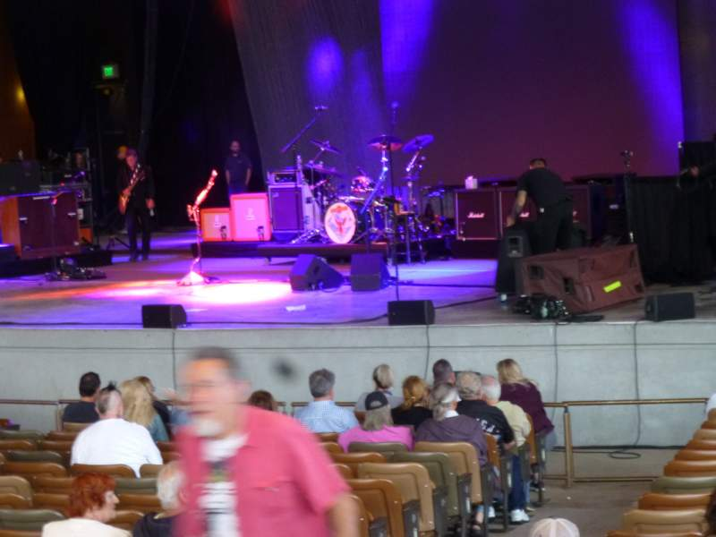 Seating view for Bethel Woods Center for the Arts Section Box 401 Row V Seat 1