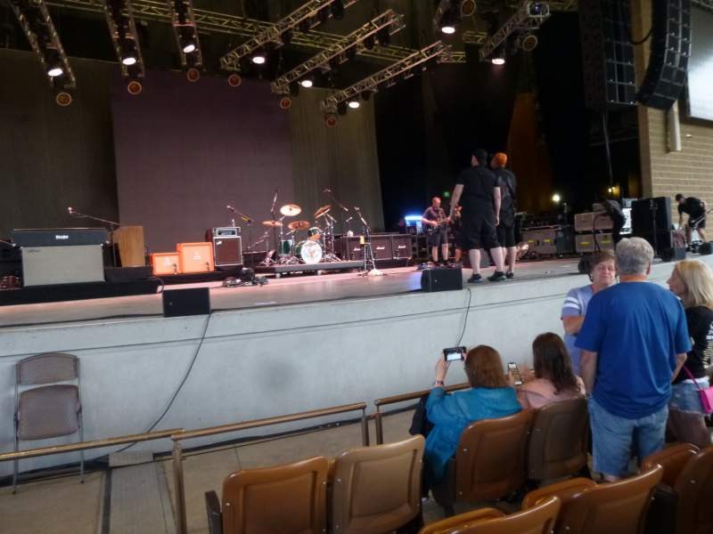 Seating view for Bethel Woods Center for the Arts Section 1 Row c Seat 24