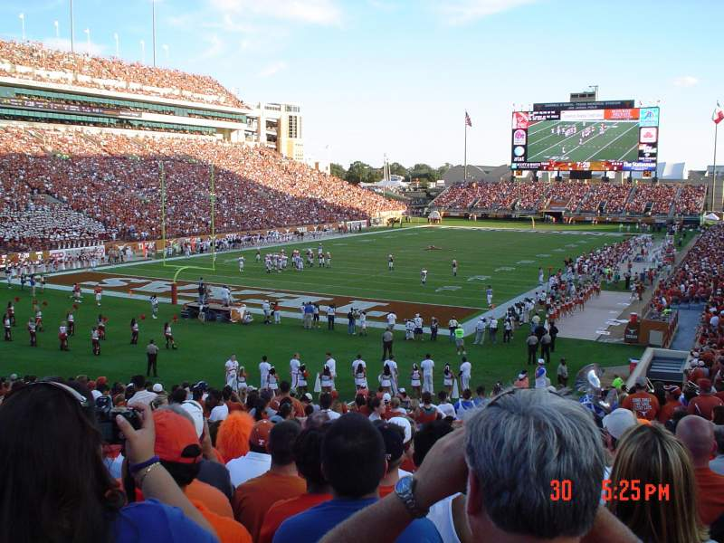 Seating view for Texas Memorial Stadium Section 14
