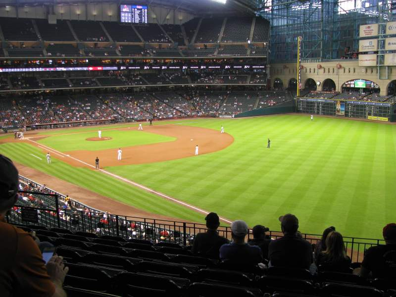Seating view for Minute Maid Park Section 233 Row 8 Seat 8