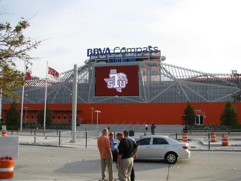 Seating view for BBVA Compass Stadium