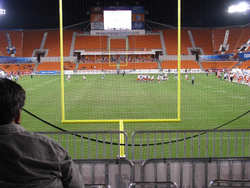 Seating view for BBVA Compass Stadium Section South Party Deck