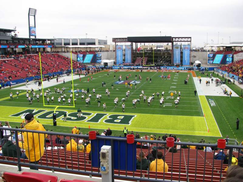 Seating view for Toyota Stadium Section 118