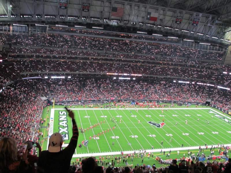 NRG Stadium, section: 612, row: S, seat: 22
