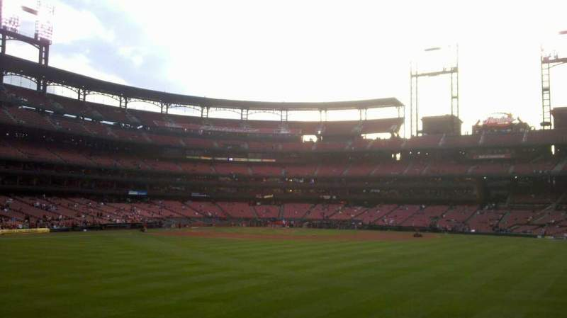 Seating view for Busch Stadium Section 103 Row 8 Seat 9