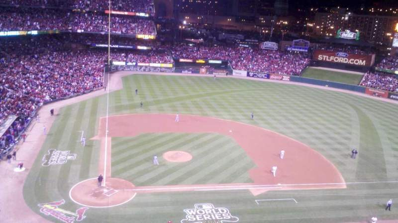 Seating view for Busch Stadium Section 346 Row 4 Seat 4