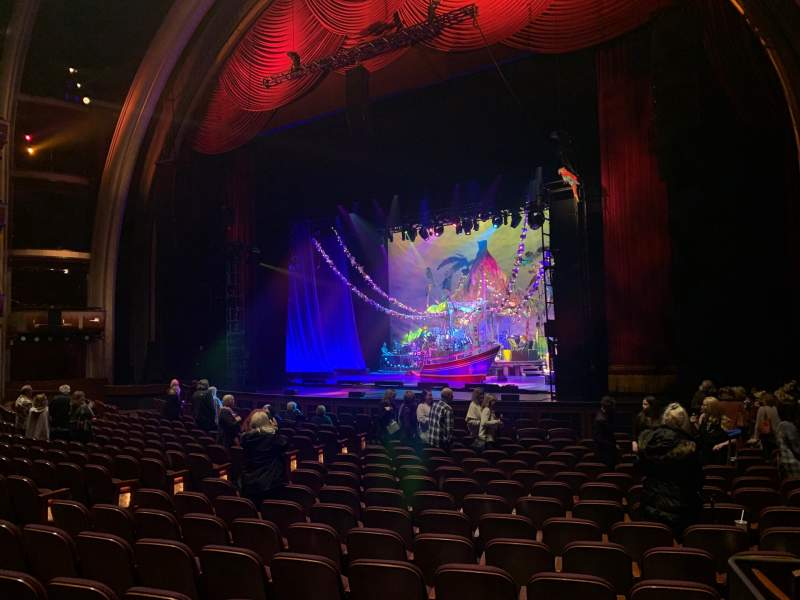 Seating view for Dolby Theatre Section Parterre R Row A Seat 5