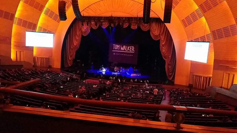 Seating view for Radio City Music Hall Section 1st Mezzanine 2 Row A